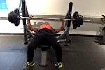 Как тренируется 62-летний атлет из Китая