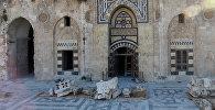 В Алеппо восстановливают мечеть Омейядов, разрушенной террористами