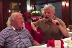 Сосо Павлиашвили вместе с отцом спел душевную песню