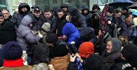 Женщины-против полиции: уличные торговцы устроили шумную акцию в Зугдиди