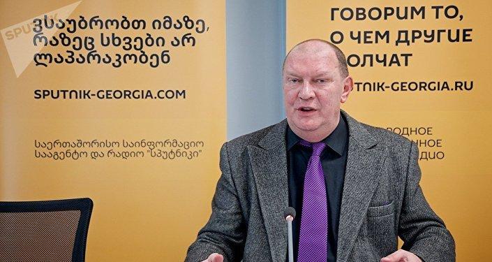 Глава КСОРСГ, президент Русского клуба и директор Грибоедовского театра Николай Свентицкий
