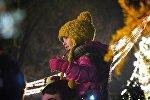 Ребенок на новогоднем концерте