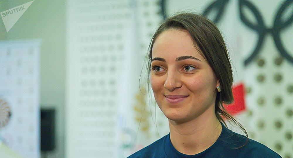 Член грузинской олимпийской сборной горнолыжница Нино Циклаури