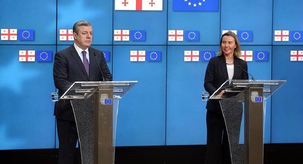 Могерини: Грузия и EC имеют блестящие отношения
