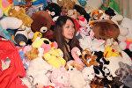 Фотограф из Китая выиграла в автоматах свыше 7000 игрушек