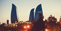 Пламенные башни и вечерние огни Баку