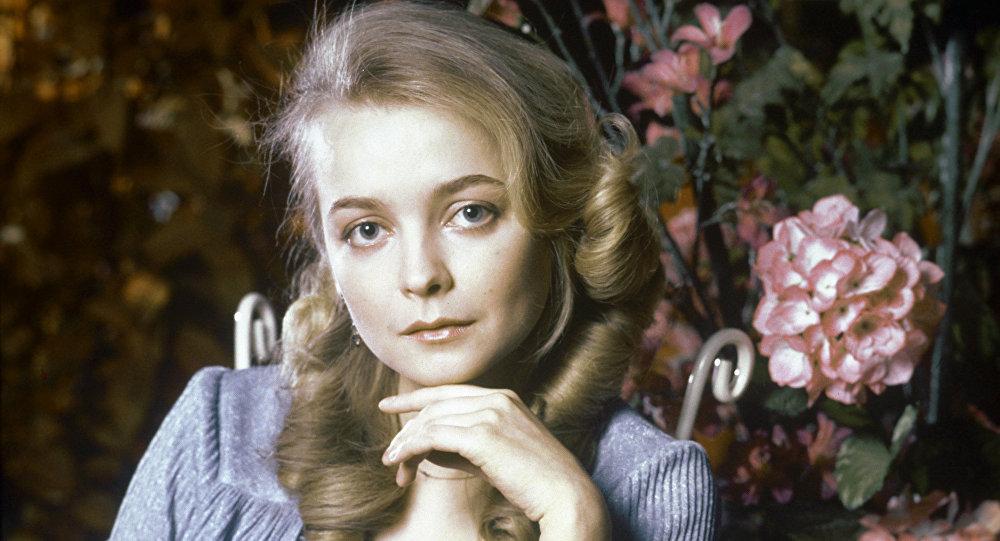 Советская актриса Наталья Вавилова