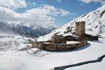 Монастырь Ламария в селе Жибиани (община Ушгули)