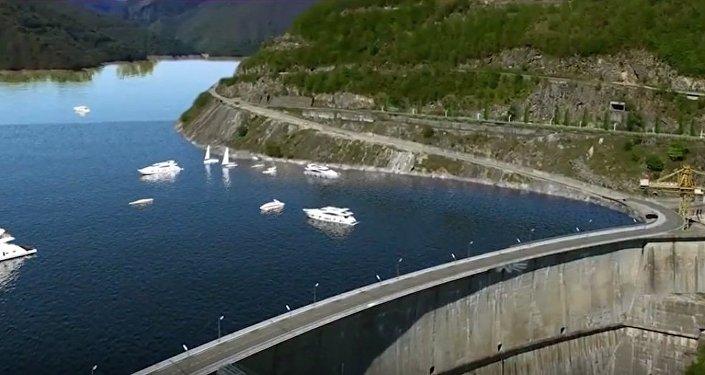 Туристическая зона Ингури ГЭС