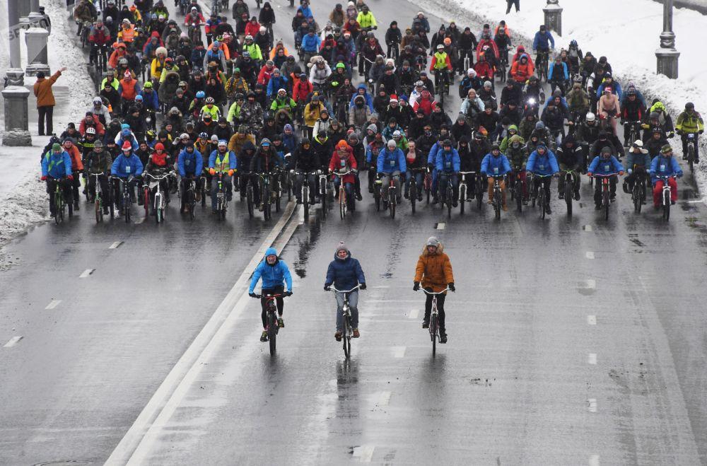 Участие в велопараде было добровольным и бесплатным для всех желающих