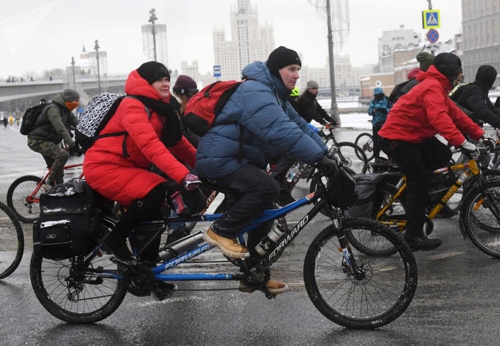 Те, кто принимал участие в велопараде, получили за целый день огромный заряд положительных эмоций