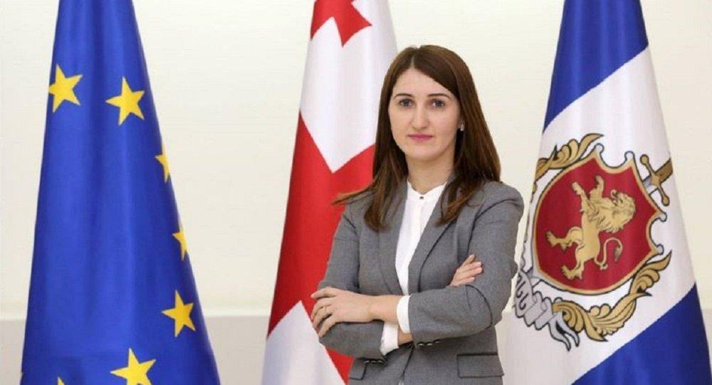 Глава департамента по защите прав человека в МВД Грузии Лонда Толорая