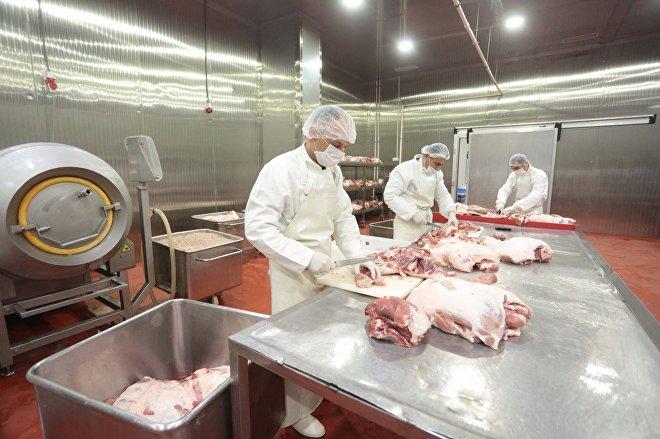 Мясоперерабатывающее предприятие компании Liderfood