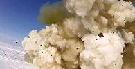 Испытательный пуск новой модернизированной ракеты системы ПРО