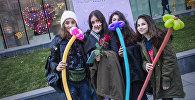 Я тебя люблю: Sputnik провел акцию в Тбилиси в День Святого Валентина