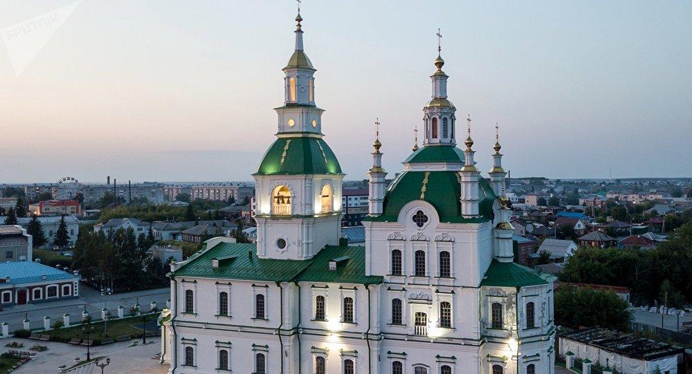 Собор Сретения Господня в городе Ялуторовске Тюменской области.