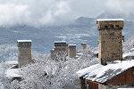 Удивительные сванские башни главная достопримечательность высокогорной Сванетии