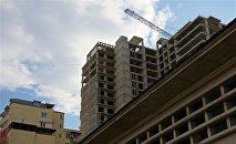 Строительство нового жилого дома в столице Грузии