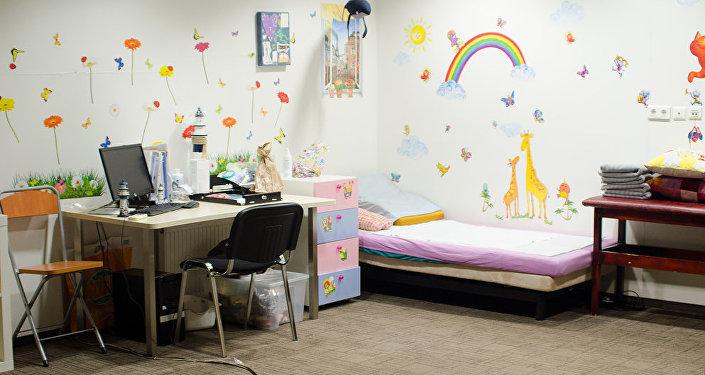 Комнаты для приема в детском хосписе Дом с маяком