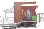 Мини-дом для небольшой семьи: как выглядит творение жителя Беларуси
