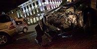 Крупная авария - ДТП на проспекте Руставели