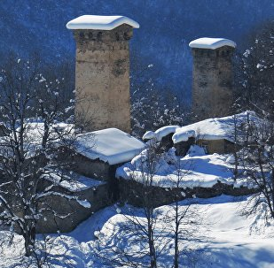 Удивительные сванские башни