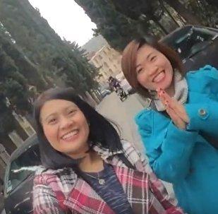 Туристы из Филиппин в Грузии