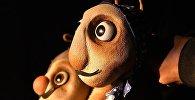 Куклы из спектакля Блоха и муравей