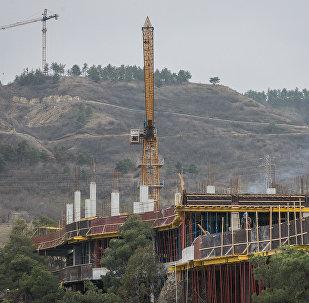 მშენებლობა თბილისში