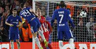 Игроки Chelseaфутбольного клуба Chelsea Atletico Madrid