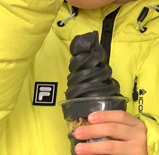 Черное мороженое: чем угощают гостей зимней Олимпиады в Корее