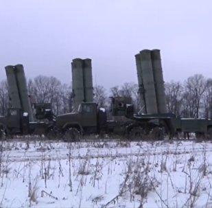 Тактические учения с примененим комплексов С-300 в Ростовской области