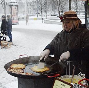 Как в Литве отпраздновали Масленицу