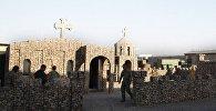 Церковь имени Святого Гоброна на военной базе Мармал в Афганистане