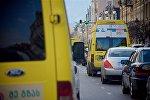 Маршрутные такси на проспекте Агмашенебели