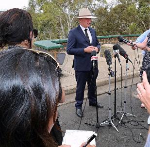 Вице-премьер Австралии Барнаби Джойс