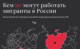 Кем не могут работать мигранты в России