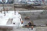 Строительство футбольного стадиона в Батуми