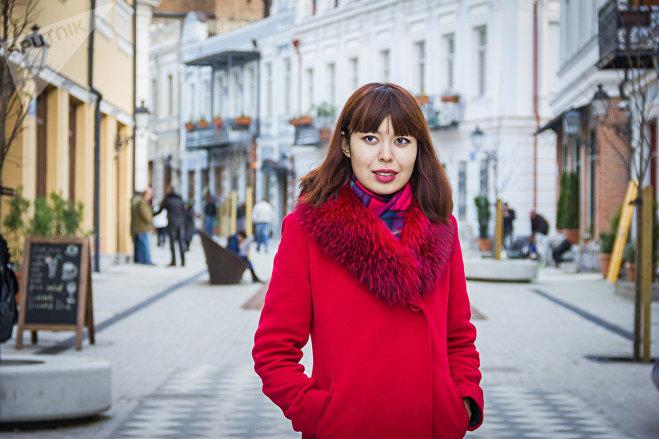 Журналист Данара Курманова
