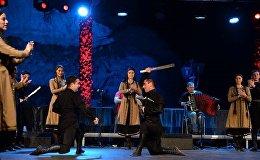 ქართული ცეკვა იტალიურ სცენაზე