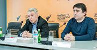 Пресс- конференция на тему Народная дипломатия в Грузии- вчера,сегодня ,завтра пресс-центр