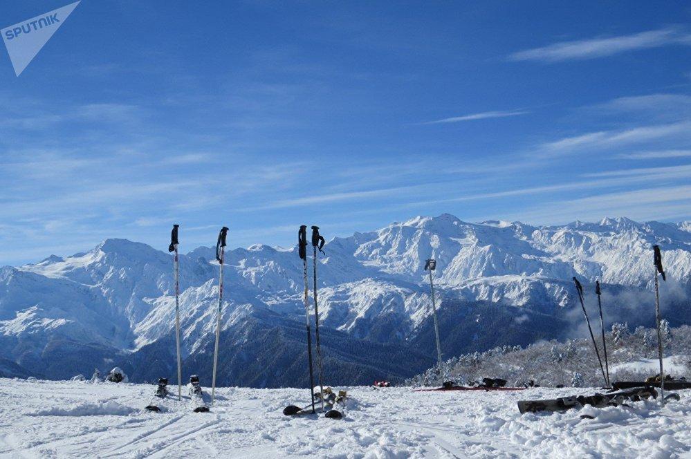 Крутые спуски и захватывающие виражи - горнолыжные трассы в Сванетии сложные и не для новичков