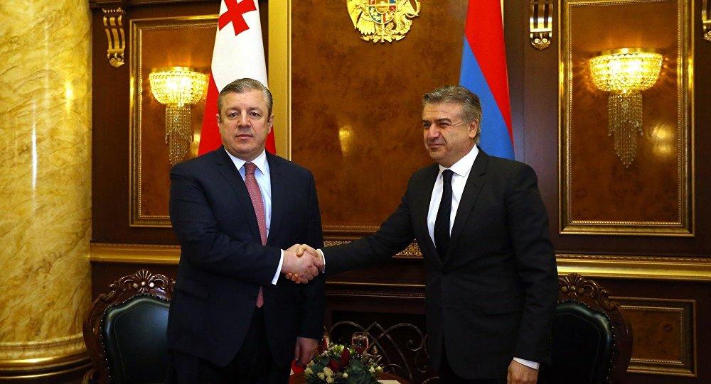 Премьер Грузии Георгий Квирикашвили завтра посетит Армению