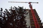 Строительство нового жилого дома в грузинской столице