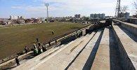 Реконструкция стадиона в Поти
