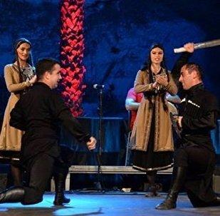 Грузинские танцы на итальянской сцене