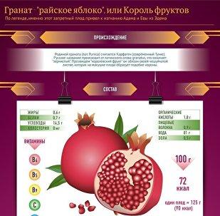 Королевский фрукт: как правильно чистить гранат
