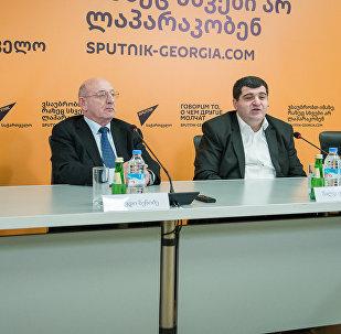 Круглый стол : Проблемы судебной реформы в Грузии пресс-центр