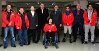 Проводы грузинских спортсменов на Паралимпийские игры в Пхенчхане