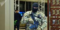 Сотрудник службы государственной безопасности Азербайджана,фото из архива